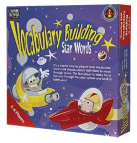Edupress Lrn1022 Vocabulary Building Star Words Red