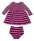 Ralph Lauren Infant Girls' Striped Long Sleeve Polo Dress