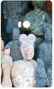 Stone Soldier Statues Back Cover Case for Nokia Lumia 920