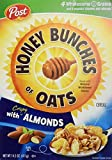 Honey Bunches of Oats with Almonds, 14.5-Ounce Boxes (Pack of 4)