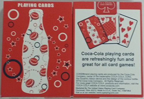 Rare Bicycle Coca-Cola Coke Sparkle Bubble Playing Cards - 1