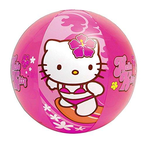 NEW-Sanrio-Hello-Kitty-Beach-Ball-Inflatable-20-Swimming-Pool-Toy-Intex