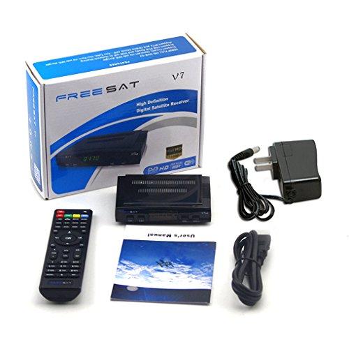 Freesat V7 HD DVB-S2 Mini Satellite TV Receivers Black 1107020cm
