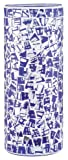 Paulmann 99846 Fabro Blue and Dichroic Glass Shade, 4-Inch Diameter