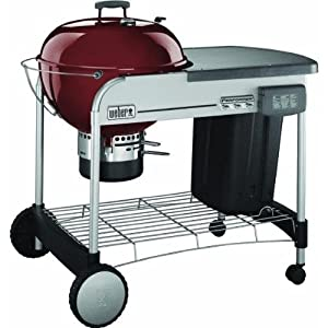 Amazon.com: Weber-Stephen Products Red Performer Grill 1424001 Charcoal Grill: Home Improvement