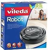 Vileda Cleaning Robot Grau Saugroboter zur Zwischendurchreinigung -