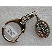 United In Love: Made In ITALY, QUARTER GRAM PURE SILVER Mixed Silver Alloy Beautiful Holy Cross Metal Key Chain...
