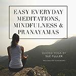Easy Everyday Meditations, Mindfulness, and Pranayamas | Sue Fuller
