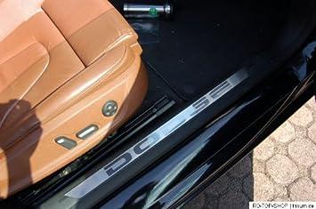 2 SUV 2010-2013 Edelstahl Einstiegsleisten Set Glanz Nissan Qashqai