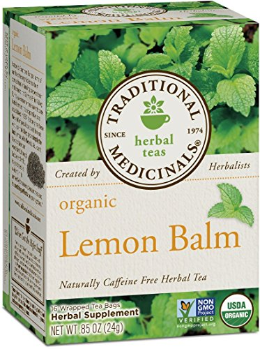 Traditional Medicinals Organic, Lemon Balm, 16 Tea Bags