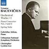 Bacevicius:Orchestral Works Vol. 1 [Gabriellius Alekna; Lithuanian National Symphony Orchestra , Christopher Lyndon-Gee] [NAXOS: 8573282]