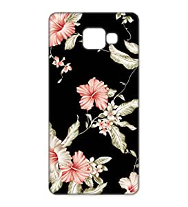 Happoz Samsung Galaxy A7 (A710) (2016) Cases Back Cover Mobile Pouches Patterns Floral Flowers Premium Printed Designer Cartoon Girl 3D Funky Shell Hard Plastic Graphic Armour Fancy Slim Graffiti Imported Cute Colurful Stylish Boys Z004