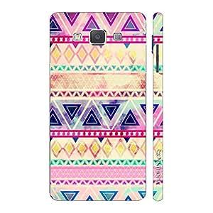 Enthopia Designer Hardshell Case Aztec Art 5 Back Cover for Samsung Galaxy E5