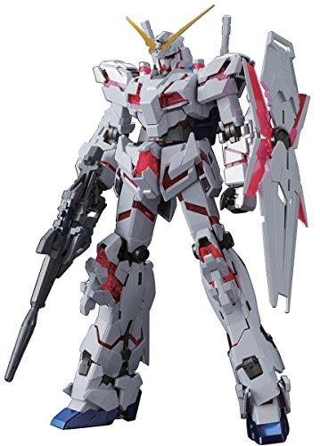 MG 機動戦士ガンダムUC ユニコーンガンダム(レッド&グリーンフレームツインフレームエディション) 1/100 チタニウムフィニッシュ(仮) 色分け済みプラモデル