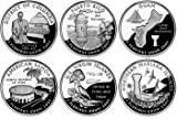 All 12 United States 2009 P & D Mint District of Columbia & U.S Territories Quarters Set Uncirculated Coins
