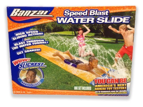 Banzai 16ft-Long Speed Blast Water Slide