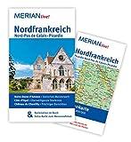 Nordfrankreich. Nord-Pas de Calais. Picardie: MERIAN live!  Mit Kartenatlas im Buch und Extra-Karte zum Herausnehmen