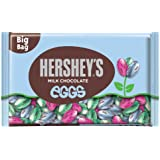 Hershey's Easter Eggs Solid Milk Chocolate, 18-Ounce Bags (Pack of 3)