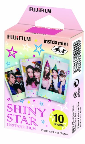 Fuji Instax Shiny Star Photo