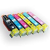 EPSON(エプソン) 純正互換インクカートリッジ IC6CL70 6色セット 残量表示機能付 【増量タイプ】 Angelshopオリジナル