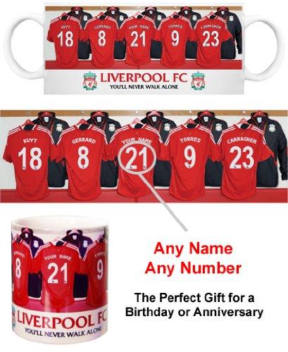 Liverpool FC Personalised Mug – Football Gifts