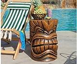 Hawaiin Tropical Mystical Grand Tiki Sculptural Tree Stem Table