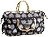 Betseyville B My Sweetheart Weekender,Black,one size