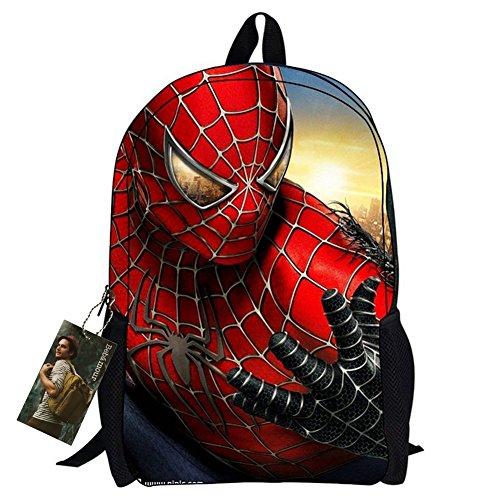 Bebamour-New-Style-Spiderman-School-Bag-Back-to-School-Superman-Kids-Bag-Sunshine