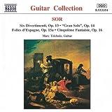 Sor: Guitar Music Opp. 13, 14, 15 a-c and 16 - Divertimenti / Gran Solo