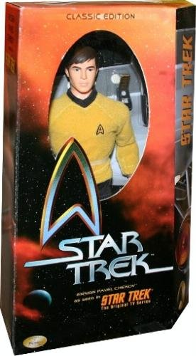 Buy Low Price Playmates Star Trek, Classic Edition, Chekov 11-inch Figure with Cloth Clothes and Accessories (B000I3OLKE)