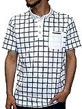(コンバース) CONVERSE ポロシャツ メンズ 半袖 速乾 ドライ チェック ボタンダウン 3color
