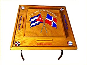 Amazon.com : Dominican Republic & Cuba Domino Table