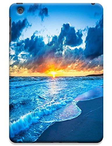 Fantastic Faye Cell Phone Cases For Ipad Mini No.11 The Fashion Design With Warm Sunshine Beach Blue Sky Clean Water Sea Star Beautiful Shell Slipper