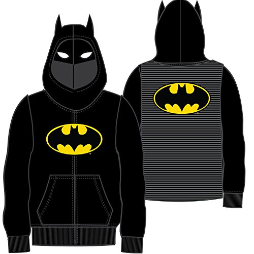 Cartoon Network Big Boys' Batman Costume Hoodie