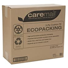 CareMail EcoPacking 3-Ply Cushion Box Void Filler, Protective Packaging, 3 Cubic Feet (1118682)