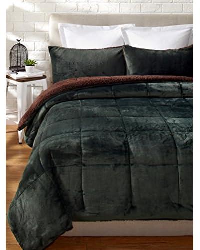 Eddie Bauer Premium Fleece Comforter Set