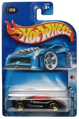 Hot Wheels 2003 Track ACes Buick Wildcat 8/10 BLACK 173 - 1