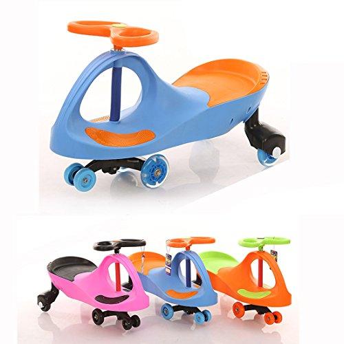 Fascol® Voiture Auto Véhicule Porteur pour 3-8 ans Enfants Plasmacar Totomobile Lumineux - Bleu