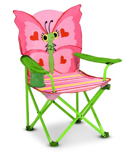 Melissa & Doug Sunny Patch Bella Butterfly Chair front-365438