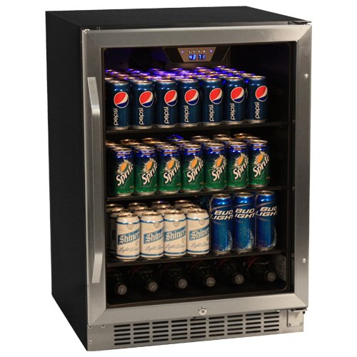 New EdgeStar 148 Can Stainless Steel Beverage Cooler