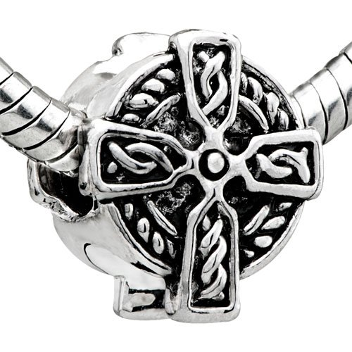 Pugster Celtic Cross Bead Bead Compatible With Pandora Chamilia Biagi