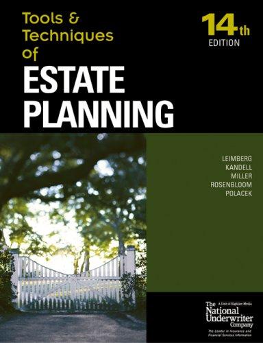 Tools & Techniques Estate Planning (Tools & Techniques)