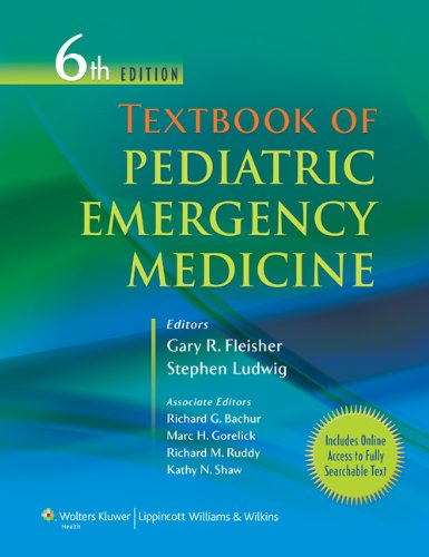 Textbook of Pediatric Emergency Medicine, 6th Edition