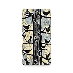 MOBICTURE Bird Premium Designer Mobile Back Case Cover For Sony Xperia M5