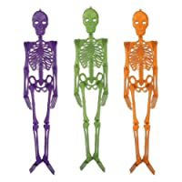 Beistle Plastic Skeletons, 4-Feet by The Beistle Company