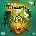 Der Freischütz (Oper erzählt als Hörspiel mit Musik) Hörspiel von Carl Maria von Weber Gesprochen von: Matti Klemm, Luca Zamperoni, Loretta Stern
