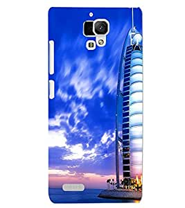 XIAOMI REDMI NOTE BUILDING Back Cover by PRINTSWAG