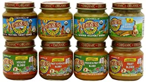 Earth's Best Antioxidant and Dinner Variety Pack, 4 Ounce Jars (Pack of 24)