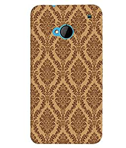 GADGET LOOKS PRINTED BACK COVER FOR HTC ONE M7 MULTICOLOR