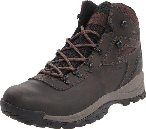 Columbia Men's Newton Ridge Plus Hiking Boot,Cordovan/Treasure,13 W US